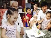 Làng sao - Con gái Lý Hải - Minh Hà cười khoái chí đón tuổi lên 3