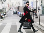 """Thời trang - """"Bạn trai tin đồn"""" của Đỗ Mạnh Cường lịch lãm dạo phố Paris"""