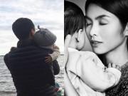 Làng sao - Ông xã Hà Tăng bế con trai thu hút 'vạn người mê' trên mạng xã hội
