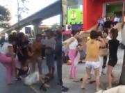 Tin tức - Khởi tố nhóm phụ nữ đánh ghen trước siêu thị Big C