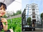 Nhà đẹp - Không chỉ nhà 100 tỷ, Trang Nhung còn có vườn rau sạch đáng mơ ước