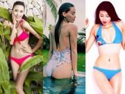 Thời trang - 3 HLV The Face thiêu đốt mùa hè với bikini