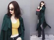 Thời trang - Angela Phương Trinh cực quyến rũ dù mặc kín bưng