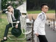 Thời trang - Con trai bầu Hiển mách cách mặc vest ăn gian chiều cao