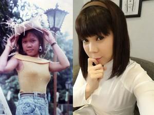 Nhìn những bức ảnh của Việt Hương cách đây 10 năm ai cũng phải tấm tắc khen ngợi
