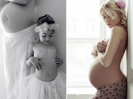 Nếu chưa cảm nhận được vẻ đẹp của mẹ bầu, hãy ngắm những bức ảnh dưới đây