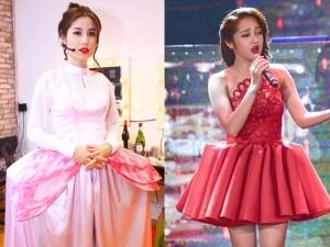 Những chiếc váy đứng thì mệt ngồi cũng không xong của sao Việt