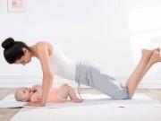 10 tư thế yoga giảm béo sau sinh bạn cần biết