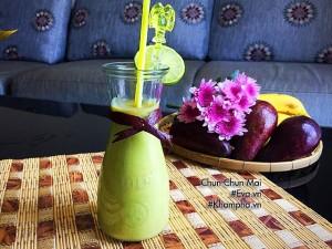 Sinh tố bơ chuối vừa ngon lại bổ dưỡng trong ngày hè