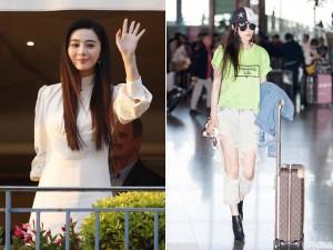 Bình thường ăn mặc sang chảnh, Phạm Băng Băng đến Cannes lại giản dị khó tin