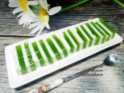 Bếp Eva - Thạch lá dứa sữa tươi thơm ngon, ngọt mát ngày hè