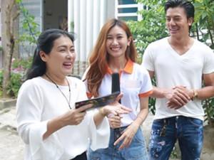 Nghệ sĩ Thanh Thủy, Hiếu Nguyễn hạnh phúc khi ghé thăm khán giả truyền hình Đà Nẵng