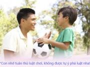 Làm mẹ - Cách bố dạy con trai: mẹ sẽ phải ngạc nhiên!