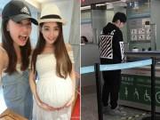 Giải trí - Vợ bất ngờ sinh con, Châu Kiệt Luân bỏ show tất tưởi về bên vợ
