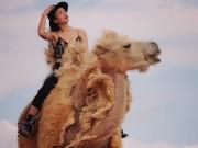 Thời trang - Hoa hậu Ngọc Diễm khoe eo thon, dáng đẹp tại nơi khó sống nhất hành tinh