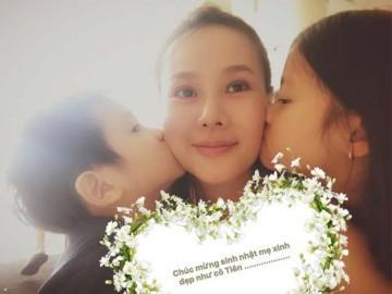 Dương Yến Ngọc tâm sự xúc động cùng con nhân sinh nhật 38 tuổi