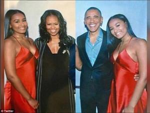 Con gái út của TT Obama gây xôn xao khi mặc sexy trong tiệc sinh nhật 16 tuổi
