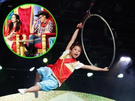 Ốc Thanh Vân, Đại Nghĩa đứng tim vì cậu bé 12 tuổi bay trên không