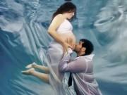 Những bức hình đẹp không thốt nên lời của các bà bầu ở dưới nước