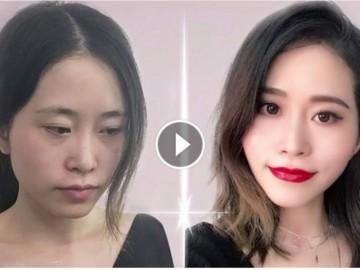 """[Video] """"Thánh nấu ăn trong văn phòng"""" hướng dẫn makeup bằng đồ ăn khiến người xem hết hồn"""