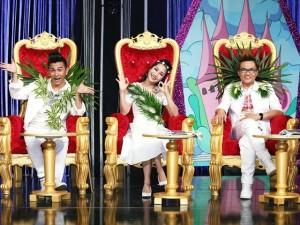 Ốc Thanh Vân, Đại Nghĩa trưng đầy lá lên người khi ngồi ghế giám khảo