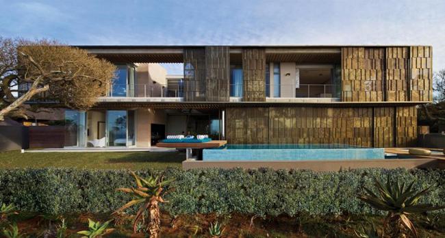 Ngôi biệt thự với thiết kế mở, hiện đại và lý tưởng này là một tác phẩm của kiến trúc sư Stephan Antoni.