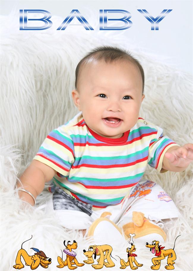 Đây là bé Phạm Trí Thiện, tên ở nhà mọi người hay thân yêu gọi là Kem. Bé sinh ngày 27/12/201.