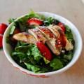 Bếp Eva - Salad gà dâu tây