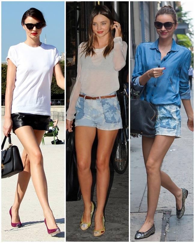 Nàng siêu mẫu Miranda Kerr sở hữu đôi chân nuột nà, thu hút mọi ánh nhìn mỗi khi bước xuống phố.