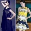 Váy suông – bầu bí vẫn thật gọn