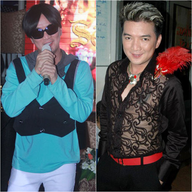 'Ông hoàng nhạc Việt' và hai bộ trang phục biểu diễn trên sân khấu độc đáo, khác lạ và ... xấu.