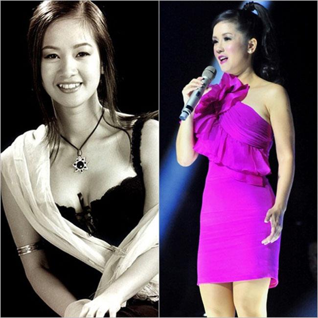 Hình ảnh Hồng Nhung thuở đôi mươi và Hồng Nhung tuổi 40 không khác nhiều. Cô Bống vẫn giữ được nét tươi trẻ nhờ chăm sóc sắc vóc chu đáo và style thời trang tinh tế.