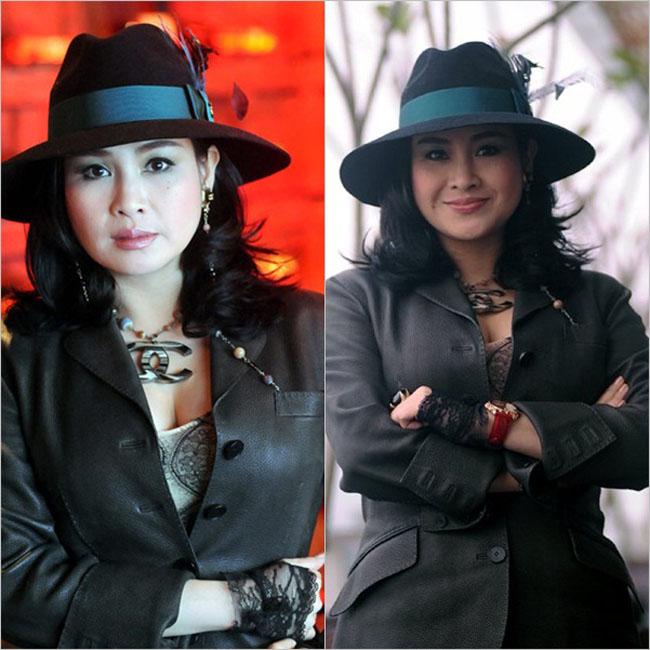 Thanh Lam là một trong số các Diva Việt 'nghiện' trang phục màu đen. Từ thời còn xuân sắc đến khi chạm tuổi U50, Thanh Lam nhiều lần xuất hiện trên sân khấu và tham dự sự kiện của làng nhạc với bộ đầm đen quý phái. Tuy nhiên không phải lúc nào nữ nghệ sĩ này cũng giữ được 'phong độ' ổn định với tone đen.