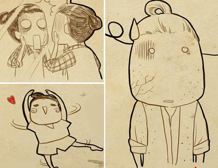 Bộ tranh 'Nhật ký của mẹ' của một bà mẹ trẻ có nick-name Kawa Chan là lời tâm sự với con yêu trong bụng về quá trình mang thai, những cảm xúc khi lần đầu biết có 'tin vui', lần đầu cảm nhận con đạp...  Bộ ảnh gây ấn tượng với đông đảo bạn trẻ cũng như các mẹ bầu bởi hình ảnh vẽ tay ngộ nghĩnh, ngôn từ hài hước nhưng không kém phần xúc động. Xem bộ tranh này, chắc chắn bạn sẽ bắt gặp hình ảnh của mình trong đó.  Mời các mẹ cùng dõi theo bộ tranh cực yêu với những lời tâm sự hài hước này.