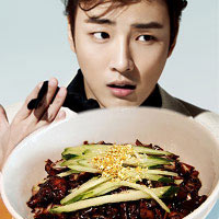 Yoon Si Yoon ăn chục bát mì tương đen