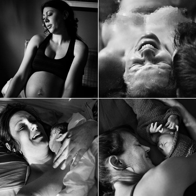 """Bộ ảnh """"The Labour Process"""" của nhiếp ảnh gia Jenna Shouldice là tập hợp những bức ảnh tuyệt đẹp về quá trình chuyển dạ của người phụ nữ cho đến khi được bồng bế con yêu trên tay.  Những thước ảnh rất đỗi giản dị, không hề được chỉnh sửa nhưng lại có giá trị vô cùng to lớn, lột tả được vẻ đẹp tuyệt vời của chị em trong giây phút thiêng liêng chào đón con yêu tại nhà. Nhiếp ảnh gia Jenna Shouldice đã đi khắp nơi trên đất nước Canada để thực hiện bộ ảnh này. Bộ ảnh đã thu hút sự chú ý của hàng triệu độc giả trên thế giới.  Mời các mẹ cùng 'nghẹn ngào' với hành trình vượt cạn đầy khó nhọc nhưng cũng ngập tràn hạnh phúc với loạt ảnh dưới đây nhé!"""