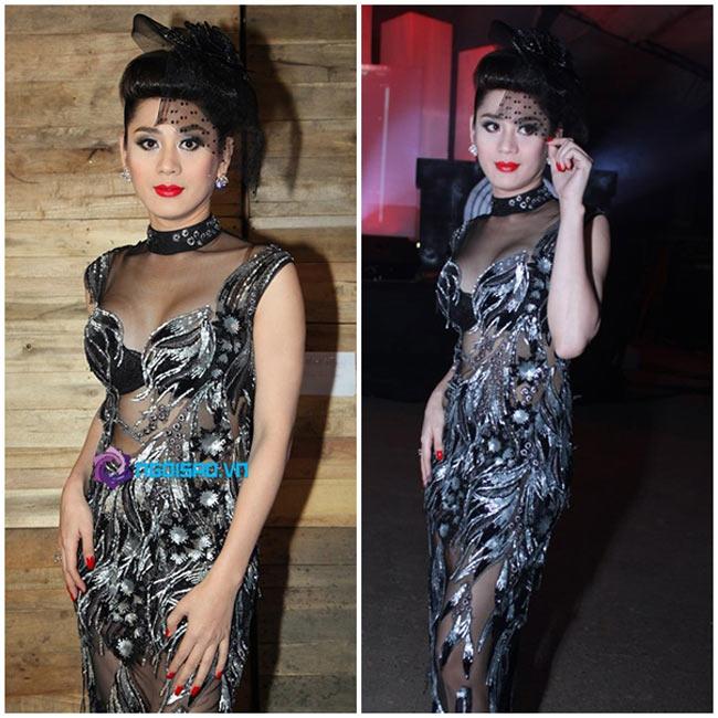 Thời trang sau khi chuyển đổi giới tính của Khanh Chi Lâm không được đánh giá cao bởi sự diêm dúa và quá màu mè.