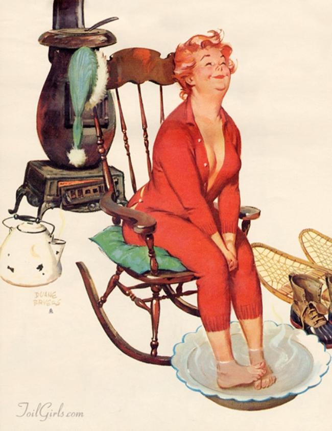 Bộ tranh Hilda là một trong những bộ tranh rất nổi tiếng của Duane Bryers, một nghệ sĩ lớn của Mỹ. Bộ ảnh thu hút sự quan tâm của dư luận vì hình ảnh một cô nàng béo với thân hình đồng hồ cát nhưng lại rất sexy mà hồn nhiên.