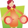 Dấu hiệu mẹ đang có song thai