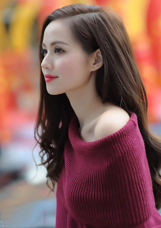 Làn da trắng sứ như người Hàn Quốc giúp Tâm Tít đẹp ngọt ngào.