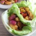 Bếp Eva - Gà xốt chua ngọt cuốn xà lách