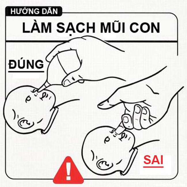 Hài hước nhưng có thật. Mẹ nên xem ngay những bức ảnh hướng dẫn cách chăm con này nhé!