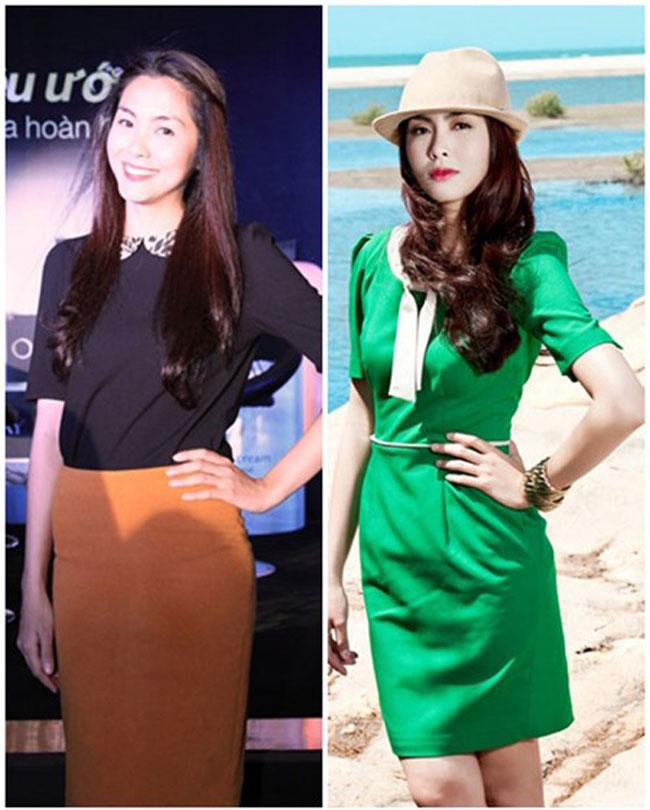 Với phong cách thời trang giản dị, thanh lịch thì những trang phục mang đậm phong cách công sở cũng được Tăng Thanh Hà lựa chọn khi xuất hiện tại các sự kiện sang trọng.
