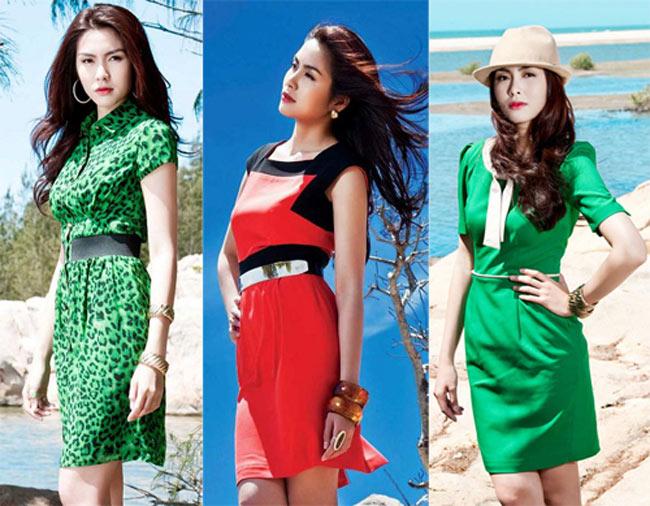 Cũng vì thế cô cũng được các thương hiệu thời trang công sở trong nước mời làm người mẫu hình ảnh cho các bộ sưu tập mới.