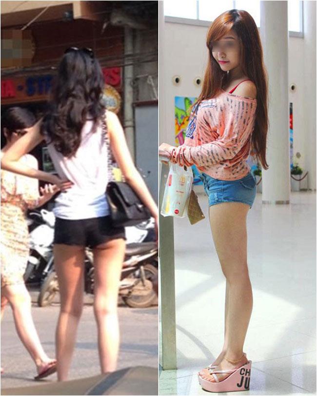 Những chiếc quần 5 cm ngày càng xuất hiện nhiều trên phố bởi phong cách ngày một táo bạo của giới trẻ Việt.