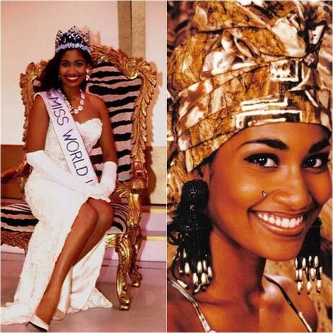 Hoa hậu thế giới 1993 vinh danh người đẹp Lisa Hanna đến từ Jamaica. Cô cuốn hút với nụ cười tươi tắn, khuôn miệng rộng, đôi mắt sắc sảo. Tuy nhiên, Miss World không được nhiều người ủng hộ vì cho rằng cô kém nổi bật so với các ứng cử viên cùng năm.