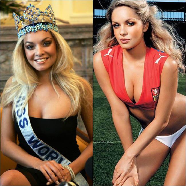 Taťána Kuchařová - người đẹp Cộng hòa Séc đăng quang Hoa hậu thế giới 2006. Vẻ đẹp bốc lửa, quyến rũ của cô nhận nhiều ý kiến cho rằng hợp với cuộc thi Hoa hậu Hoàn Vũ hơn. Đường nét gương mặt Taťána Kuchařová cũng không thực sự cuốn hút.