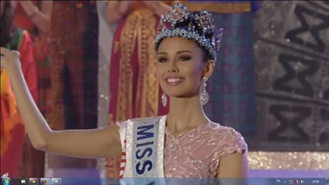 Hoa hậu Philippines Megan Young đăng quang Hoa hậu thế giới 2013 hoàn toàn xứng đáng.
