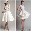 Thời trang - Những tuyệt phẩm váy ngắn cho cô dâu mùa hè