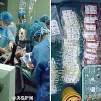 Truyền 53 túi máu cứu mẹ bầu tắc mạch ối